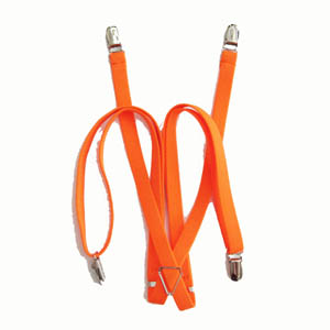 "Orange 1/2""x48"" Suspenders 898-0"