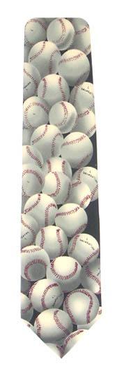 Baseballs Men's Tie 1021-0