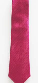"49"" Boys Fuchsia Solid Tone on Tone Rectangles Weave Tie 11382-0"