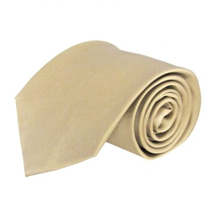 Taupe Solid Silk Men's Tie 1747-0