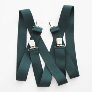 Hunter Solid Suspenders 2043-0