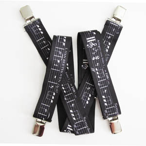 Music Suspenders 2057-0