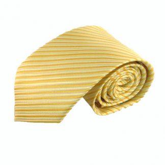 "63"" XL Yellow Stripe Men's Tie 11211-0"