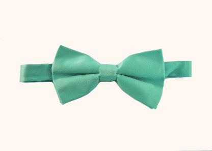 """Turquoise Solid 2"""" Banded Bow Tie 3484-0"""