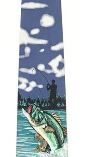 49'' Boy's Self Tie Bass Fishing Tie 4031-0