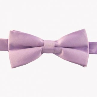 "Lavender Solid 2"" Banded Bow Tie 4992-0"