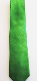 """49"""" Boy's Lime Solid Tone on Tone Rectangles Tie 5027-0"""