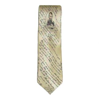 Lincoln, Gettysburg Address Silk Men's Tie 5062