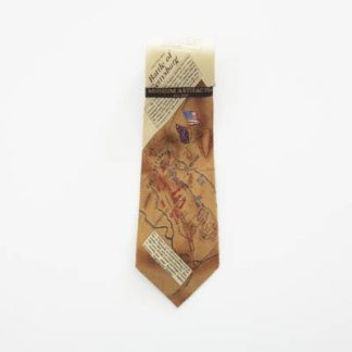 Battle of Gettysburg Museum of Artifacts Silk Men's Tie 5069-0