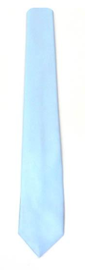 49'' Boys Light Blue Solid Self Tie 9024-0