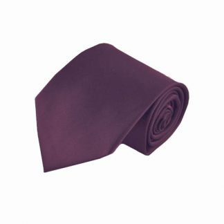 Purple Solid Men's Tie w/Pocket Square 9349-0