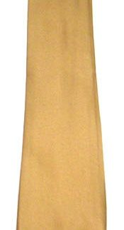 Gold Solid Men's Tie 9711-0