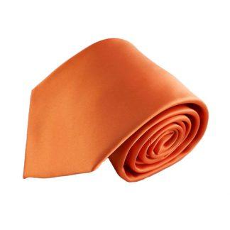 Light Orange Men's Tie w/ Pocket Square 9813