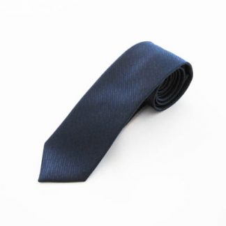 Navy Tone on Tone Rectangles Skinny Men's Tie 9857-0