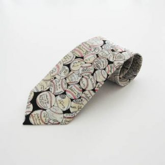 Baseball Signatures Baseball Silk Men's Tie 9934-0