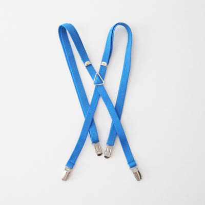 "French Blue Solid 1/2"" Suspenders 0900-0"