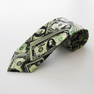 Paper Money Men's Tie 1033-0