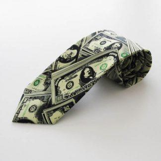 Paper Money Men's Tie 1033-0
