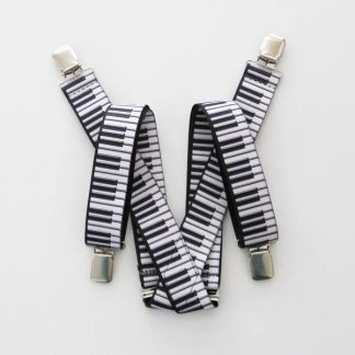 Piano Keys Suspenders 8629-0
