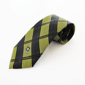 U.S. Army Black, Gold Criss Cross Men's Tie 9994-0