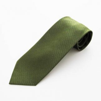 "63"" XL Olive Green Solid Tone on Tone Rectangles Men's Tie 5815-0"