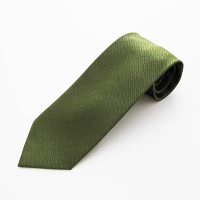 """63"""" XL Olive Green Solid Tone on Tone Rectangles Men's Tie 5815-0"""