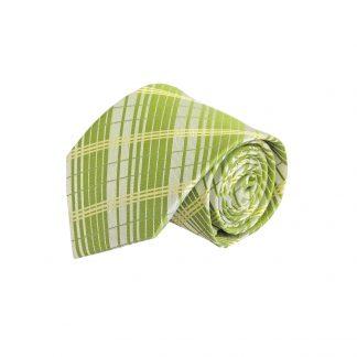 Sage, Yellow Plaid Men's Tie 1608-0