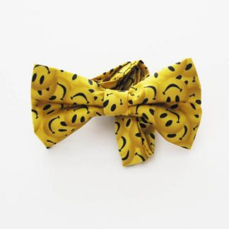 Smiley Faces Band Bow Tie 6642-0