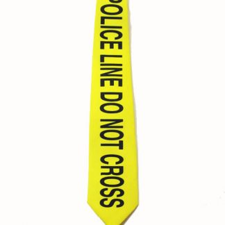 """Police Line Do Not Cross"" Men's Tie 8821-0"
