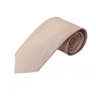 Pale Pink Solid Tone on Tone Pattern Men's Tie 11060-0