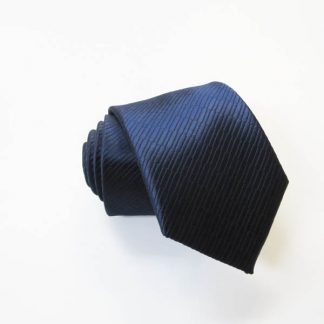 "49"" Boy's Self Tie Navy Solid Tone on Tone Rectangles 9546-0"