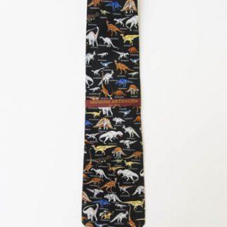 Dinosaurs with Names Silk Men's Tie 5035-0