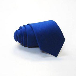 Royal Blue Solid Skinny Tie 7072-0