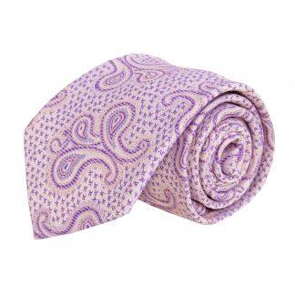 Lavender Paisley Men's Tie 3221-0