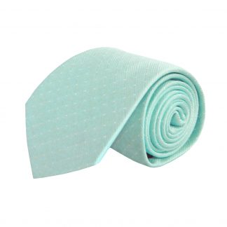 Aqua Solid Tone on Tone Stripe Men's Tie 5401-0