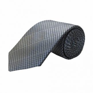 Gray, Black Weave Men's Tie 5528-0