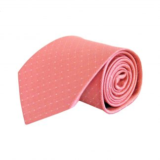 Pink w/Gray Dot Men's Tie 8373-0