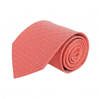 Medium Red Dots Men's Tie 9779-0