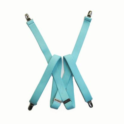 "48"" Mint Solid Suspenders 2953-4726"