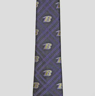 NFL Baltimore Ravens Criss Cross Men's Tie 9869-0