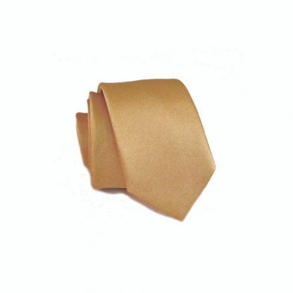 Light Gold Skinny Men's Tie 2390-0