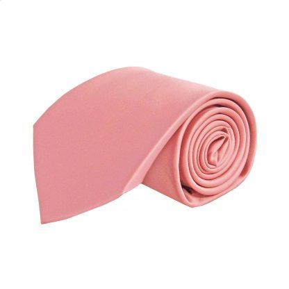 Mauve Solid Men's Tie w/Pocket Square 8639-0
