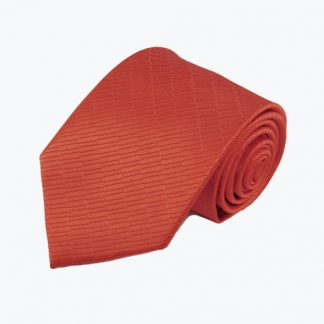 Cherry Red Small Rectangle Tone on Tone Men's Tie 198-0