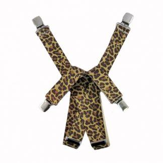 Leopard Suspenders 2350-0