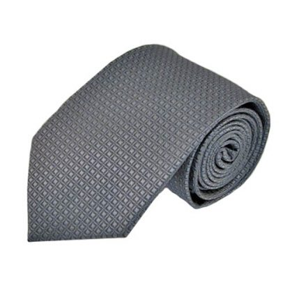 Charcoal Small Diamonds Tone on Tone Men's Tie 3053-0