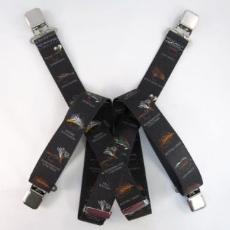 Black Fly Fishing Suspenders 334-0