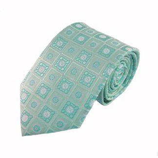 Mint, Turquoise Medallion Men's Tie 4168-0