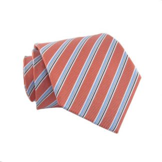 "Boy's 49"" Salmon & Light Blue Stripe 4472-0"