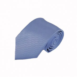French Blue Small Rectangle Tone on Tone Men's Tie 5866-0