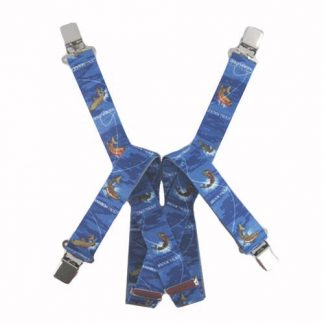 Blue Trout Suspenders 7857-0